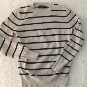 J. Crew Factory unisex striped sweater